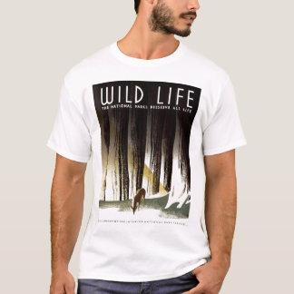 "WPA - ""野生の生命"" Tシャツ"