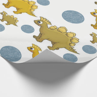 Wrapping paper Dinosaurs ラッピングペーパー