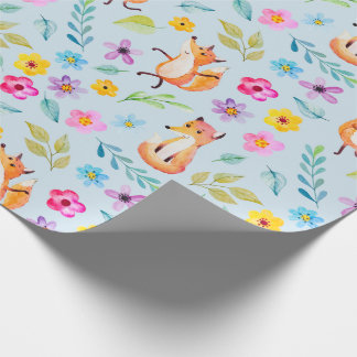 Wrapping Paper - Happy Mr. Fox ラッピングペーパー