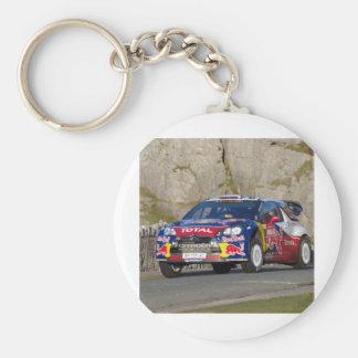 WRCの再結集車カバー キーホルダー