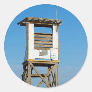 Wrightsvilleのビーチのライフガードの立場5 ラウンドシール