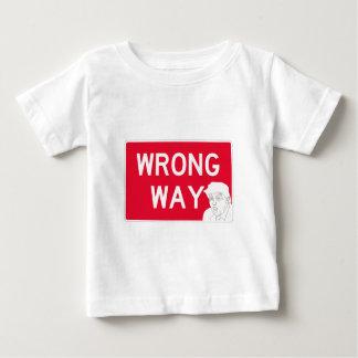 wrongway-trump2 ベビーTシャツ