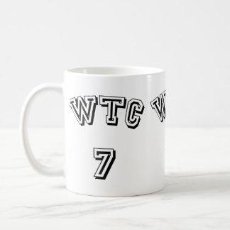 WTC 7を造る世界貿易センター コーヒーマグカップ