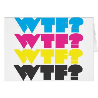 wtfか。 カード