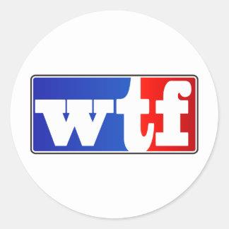 WTFのスポーツ・ファン ラウンドシール