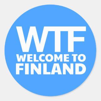 WTF -フィンランドへようこそ ラウンドシール