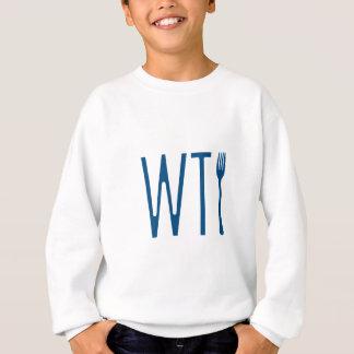 WTF -フォークのユーモアの商品何 スウェットシャツ