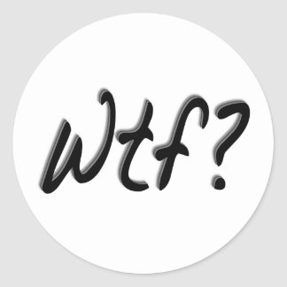 Wtf ラウンドシール
