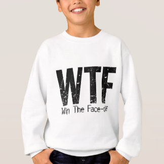 WTF: 勝って下さい対決(ホッケー)に スウェットシャツ