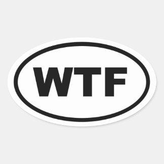 WTF 楕円形シール