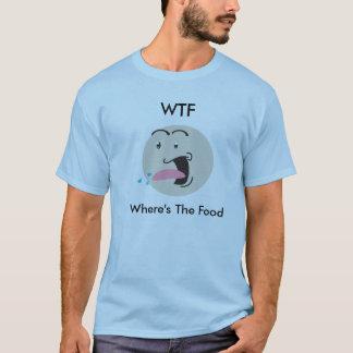 WTF (wheres食糧)の喜劇のティー Tシャツ