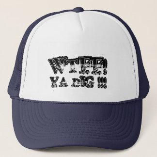 WTFF! 、YAの発掘!!! キャップ