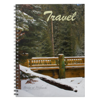 Wuksachiロッジ旅行ノートの橋 ノートブック