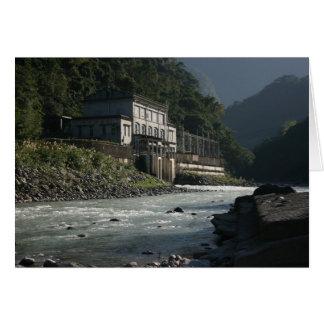 Wulaiの発電所、Wulai、台北県、台湾 カード