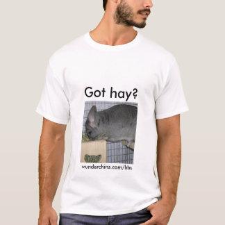 Wunderchinsは干し草を得ました--人 Tシャツ