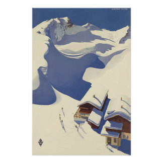 Wunshhelmオーストリアのヴィンテージ旅行ポスター ポスター