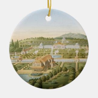 Wurtの王のギヨーム別荘の空中写真 セラミックオーナメント