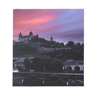 Würzburg、ドイツ ノートパッド