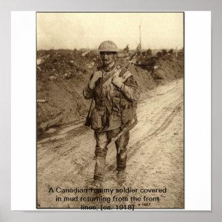 WW1兵士 ポスター