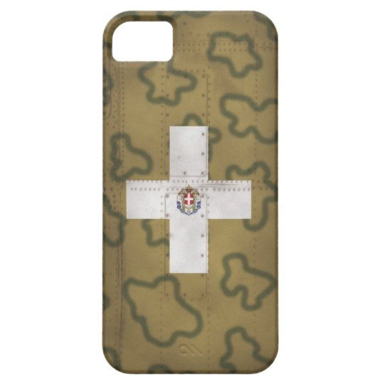 WW2 イタリア空軍機迷彩001 iPhone SE/5/5s ケース
