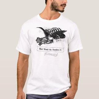 WWFD copywrightロゴ Tシャツ