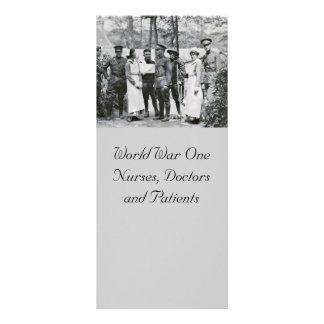 WWIのナースおよび医者 ラックカード