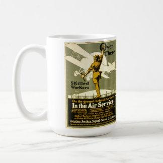 WWIアメリカの募集ポスターマグ コーヒーマグカップ