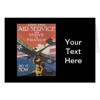 WWI広告入隊 カード