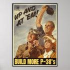 WWIIのプロパガンダポスターの重版 ポスター