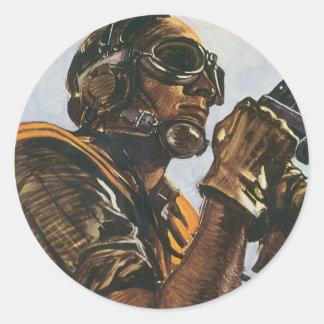 WWIIの射撃手 ラウンドシール