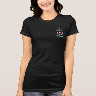WWIIの燃料庫のパーティーのワイシャツの上の緩い唇は船を沈めます Tシャツ