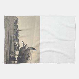 WWIIの飛行機 キッチンタオル