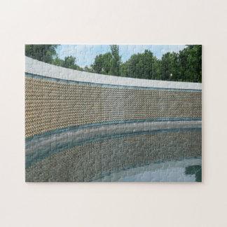 WWIIのWashington D.C.の記念の自由の壁 ジグソーパズル