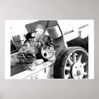 WWIIドイツのBodega -デジタル写真現実主義 ポスター