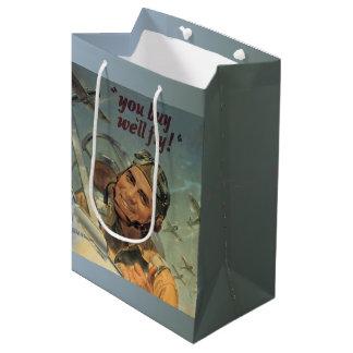 WWII時代 ミディアムペーパーバッグ