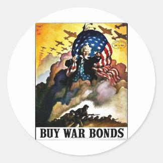 Wwii Bonds1 ラウンドシール