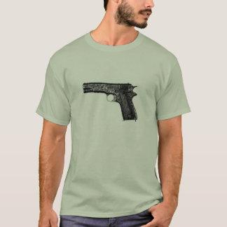 WWII M1911のピストル Tシャツ
