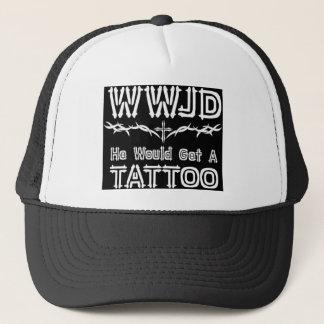WWJDの入れ墨 キャップ