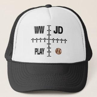 WWJDの野球 キャップ