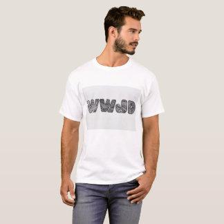 WWJDのTシャツ Tシャツ