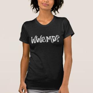 WWSMDか。 石ショーの版暗闇 Tシャツ