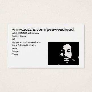 www.zazzle.com/peeweedread 名刺