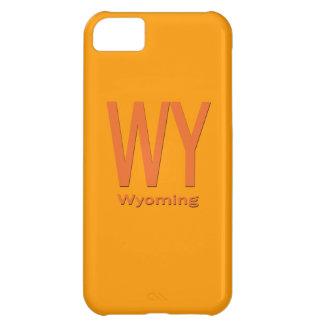 WYワイオミングの明白なオレンジ iPhone5Cケース