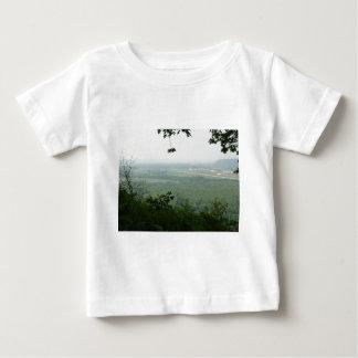 Wyalusingの州立公園の木-家次 ベビーTシャツ