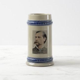 Wyatt Earpの記念するビールステイン ビールジョッキ