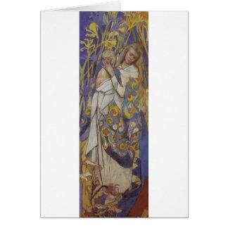 Wyspianski、Caritas (マドンナおよび子供)、1904年(1) カード