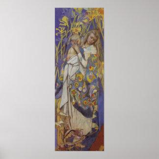 Wyspianski、Caritas (マドンナおよび子供)、1904年(1) ポスター