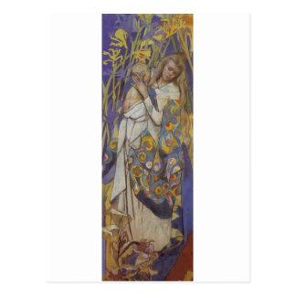 Wyspianski、Caritas (マドンナおよび子供)、1904年(1) ポストカード
