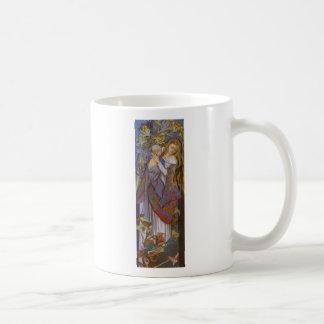 Wyspianski、Caritas (マドンナおよび子供)、1904年(2) コーヒーマグカップ