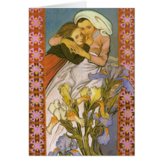Wyspianski、Caritas (愛)、1904年 カード
